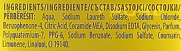 Champú y gel de ducha 2en1 con guaraná y ácido cítrico - Rexona Men Sport Shower Gel Body & Hair — imagen N5