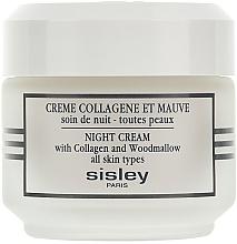 Perfumería y cosmética Crema de noche con colágeno - Sisley Creme Collagene Et Mauve Botanical Night Cream