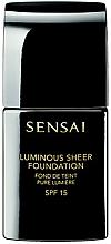 Perfumería y cosmética Kanebo Sensai Luminous Sheer Foundation - Base de maquillaje iluminadora