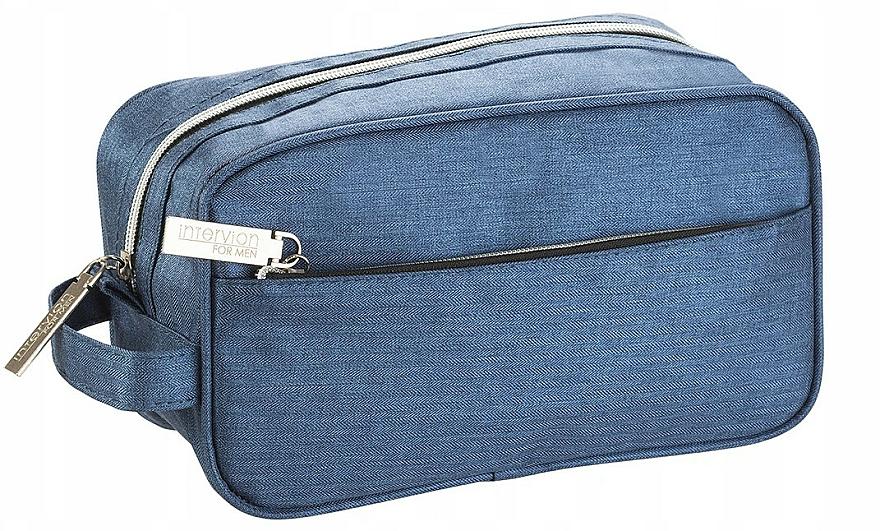 Neceser cosmético, azul claro, (14x24x11cm) - Inter-Vion