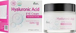 Perfumería y cosmética Crema contorno de ojos hidratante con ácido hialurónico - Ekel Hyaluronic Acid Eye Cream