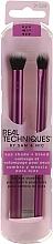 Perfumería y cosmética Set pinceles de maquillaje - Real Techniques Eye Shade + Blend