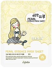 Perfumería y cosmética Mascarilla facial de tejido con extracto de perla - Esfolio Essence Mask Sheet