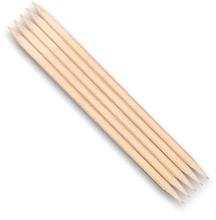 Perfumería y cosmética Palitos empujacutículas de madera, 7040, 5uds. - Top Choice