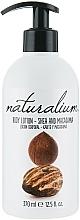 Perfumería y cosmética Loción corporal nutritiva con macadamia y manteca de karité - Naturalium Body Lotion