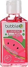 Perfumería y cosmética Gel de manos antibacteriano con aroma a sandía - Bubble T Watermelon Hand Cleansing Gel