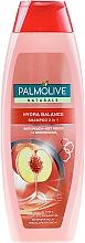 Perfumería y cosmética Champú & acondicionador con melocotón 100% natural 2 en 1 - Palmolive Naturals 2 in 1 Hydra Balance Shampoo
