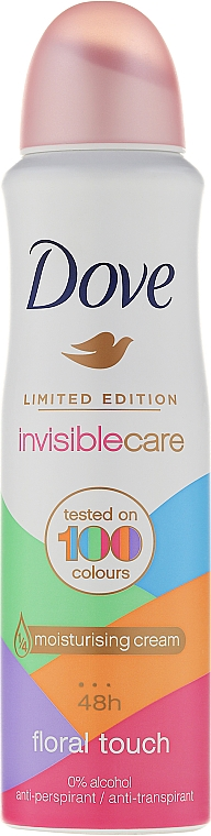 Desodorante antitranspirante en spray invisible - Dove Invisible Care Floral Touch Antiperspirant Limited Edition