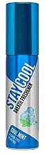 Perfumería y cosmética Spray bucal refrescante con aroma a menta fresca, sin alcohol - Stay Cool Breath Fresheners Cool Mint