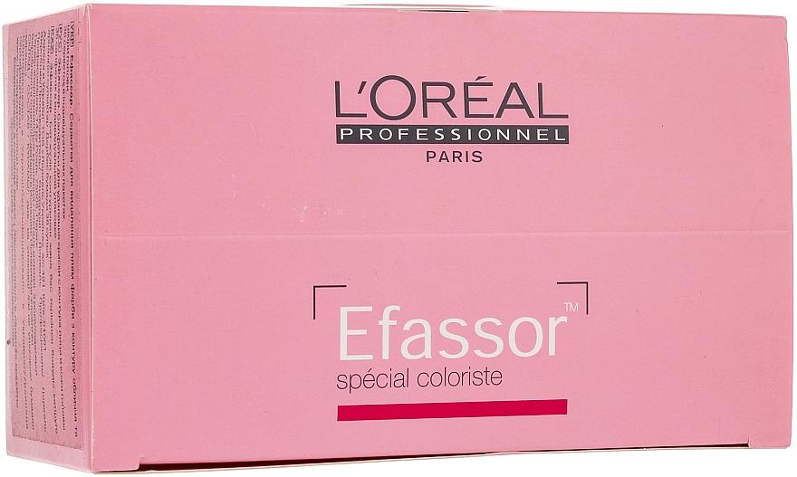 Toallita removedora de color, 36x3g - L'Oreal Professionnel Efassor — imagen N1