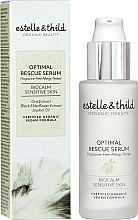 Perfumería y cosmética Sérum facial calmante con flor de saúco negra y extracto de avena, vegano - Estelle & Thild BioCalm Optimal Rescue Serum