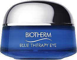 Perfumería y cosmética Crema contorno de ojos con extracto de algas - Biotherm Blue Therapy Eye