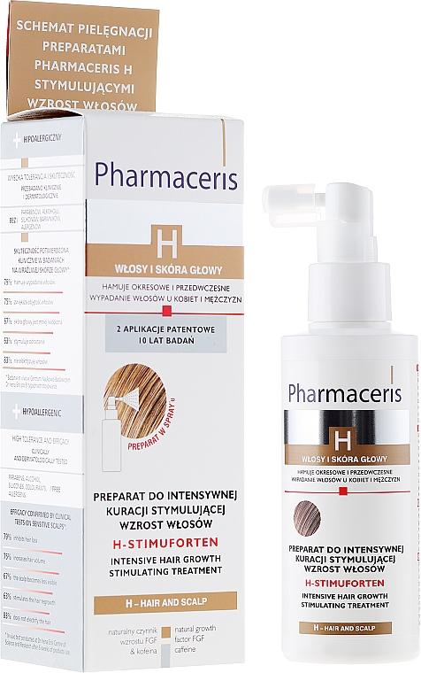Tratamiento estimulador del crecimiento de cabello hipoalergénico - Pharmaceris H-Stimupurin Itensive Hair Growth Stimulating Treatment