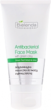 Perfumería y cosmética Mascarilla facial antibacteriana con extracto de té verde - Bielenda Professional Face Program Antibacterial Face Mask with Green Clay