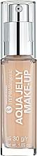 Perfumería y cosmética Base de maquillaje gelatinosa e hidratante con efecto mate - Bell Hypoallergenic Aqua Jelly Make-Up