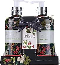 Perfumería y cosmética Set cuidado de manos con aroma a verbena y camomila - Baylis & Harding Royale Garden (jabón/300ml + crema/300ml)