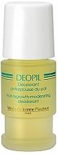 Perfumería y cosmética Desodorante roll on antitranspirante y reductor de crecimiento de vello - Methode Jeanne Piaubert Deopil Roll-on Alcohol- and Fragrance-Free Antiperspirant