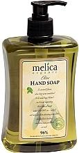 Perfumería y cosmética Jabón de manos líquido natural con extracto de oliva - Melica Organic Olive Liquid Soap