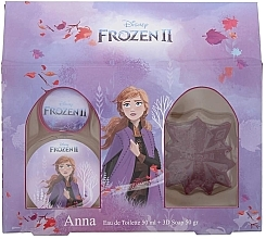 Perfumería y cosmética Disney Frozen II Anna Gift Set - Set infantil (eau de toilette/50ml + jabón/50ml)