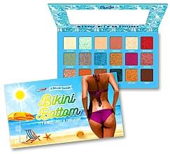 Perfumería y cosmética Paleta de sombras de ojos - Rude Bikini Bottom Eyeshadow Palette