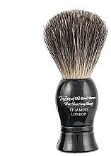 Perfumería y cosmética Brocha de afeitar artesanal con cerdas de tejón, negra, talla S - Taylor of Old Bond Street Shaving Brush Pure Badger size S