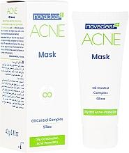 Perfumería y cosmética Mascarilla facial mate antiacné de sílice - Novaclear Acne Mask