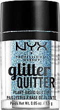 Perfumería y cosmética Glitter para rostro y cuerpo - NYX Professional Makeup Glitter Quitter Plant-Based Glitter