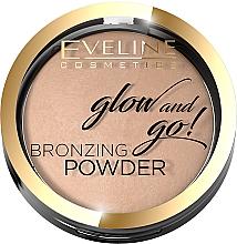 Perfumería y cosmética Polvo bronceador compacto - Eveline Cosmetics Glow & Go Bronzing Powder