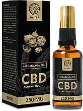 Perfumería y cosmética Aceite de macadamia natural CBD 250mg - Dr. T&J Bio Oil