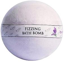 Perfumería y cosmética Bomba de baño con aceite de lavanda - Kanu Nature Bath Bomb Lavender