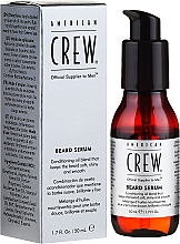 Perfumería y cosmética Sérum para barba con aceite de argán - American Crew Official Supplier to Men Beard Serum