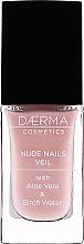Perfumería y cosmética Endurecedor de uñas con color - Daerma Cosmetics Nude Nails Veil Treatment