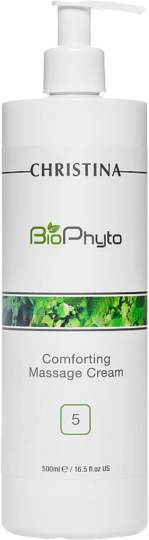 Crema reparadora de masaje facial con vitaminas. Paso 5 - Christina Bio Phyto Comforting Massage Cream