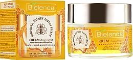 Perfumería y cosmética Crema facial nutritiva e hidratante con miel de manuka - Bielenda Manuka Honey Nutri Elixir Day/Night Cream