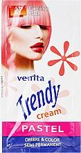 Perfumería y cosmética Tónico cremoso semipermanente para cabello - Venita Trendy Color Cream (saché)