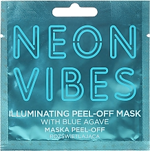 Perfumería y cosmética Mascarilla facial con agave azul - Marion Neon Vibes Illuminating Peel-Off Mask