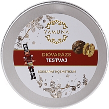 Perfumería y cosmética Manteca corporal con aceite de macadamia - Yamuna Walnut Magic Body Butter