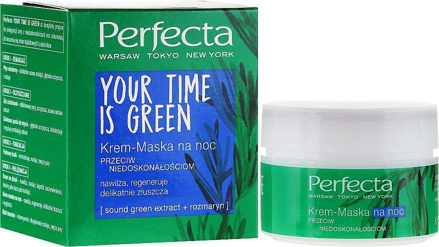 Crema-mascarilla facial con romero - Perfecta Your Time is Green — imagen N1