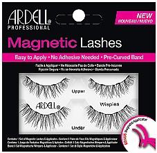 Perfumería y cosmética Pestañas postizas magnéticas con aplicador - Ardell Magnetic Strip Lash Wispies