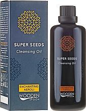 Perfumería y cosmética Aceite limpiador - Wooden Spoon Super Seeds Enchanting Neroli Cleansing Oil