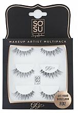 Perfumería y cosmética Pestañas postizas - Sosu by SJ Makeup Artist Multipack Eyelashes Gigi