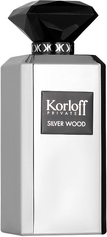 Korloff Paris Silver Wood - Eau de parfum