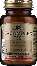 """Perfumería y cosmética Complemento alimenticio del complejo vitamínico B, en cápsulas - Solgar B-Complex """"50"""""""