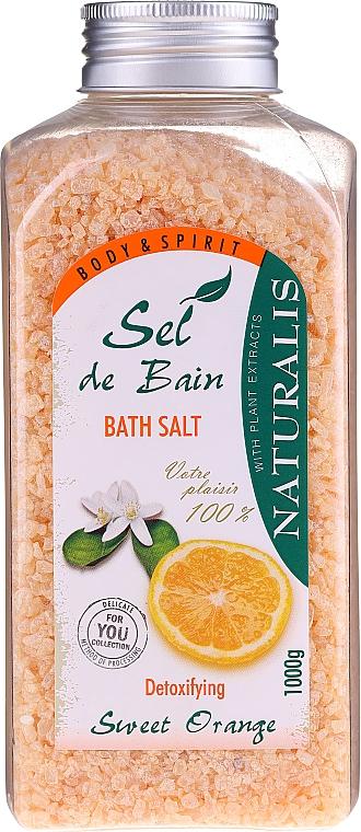Sales de baño con aroma a naranja - Naturalis Sel de Bain Sweet Orange Bath Salt