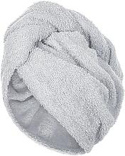 Perfumería y cosmética Toalla turbante, gris - MakeUp