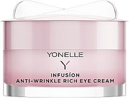 Perfumería y cosmética Crema contorno de ojos con retinol y aceite de camelia - Yonelle Infusion Anti-Wrinkle Rich Eye Cream
