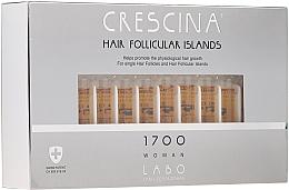 Perfumería y cosmética Tratamiento en ampollas estimulador del crecimiento de cabello en mujeres 1700 - Crescina Hair Follicular Islands Re-Growth