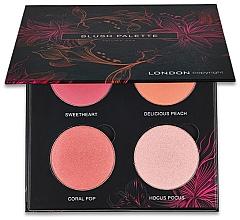 Perfumería y cosmética London Copyright Magnetic Face Powder Blush Palette - Paleta de colorete
