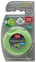 Perfumería y cosmética Hilo dental con cera microcristalina, aroma a lima y bergamota, 30m - SPLAT Professional DentalFloss