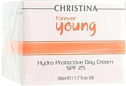 Perfumería y cosmética Crema de día hidratante con glicerina - Christina Forever Young Hydra Protective Day Cream SPF25
